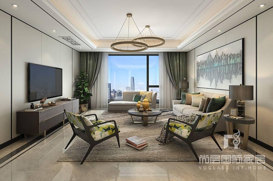 客厅现代风格软装设计