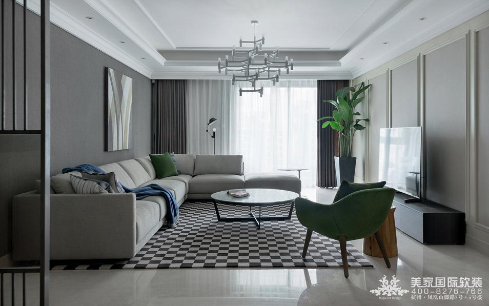 現代客廳軟裝