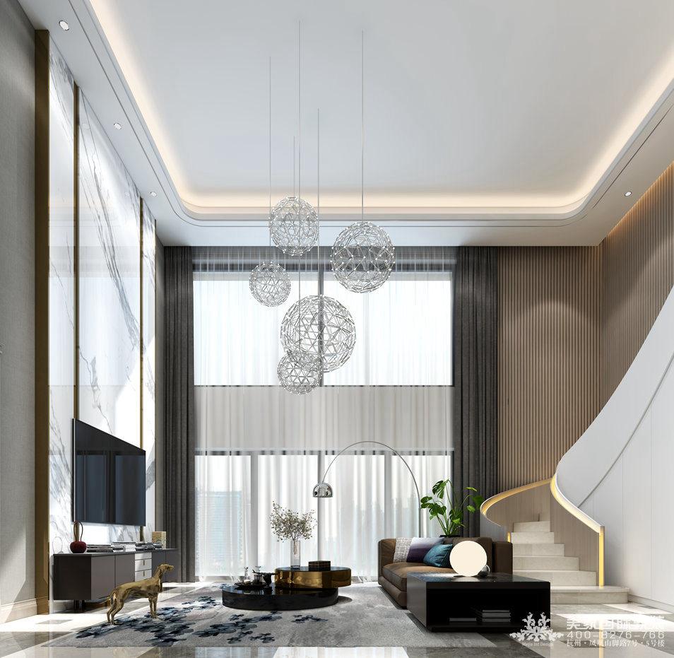 客廳軟裝設計案例