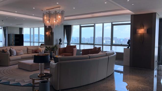 別墅客廳軟裝設計