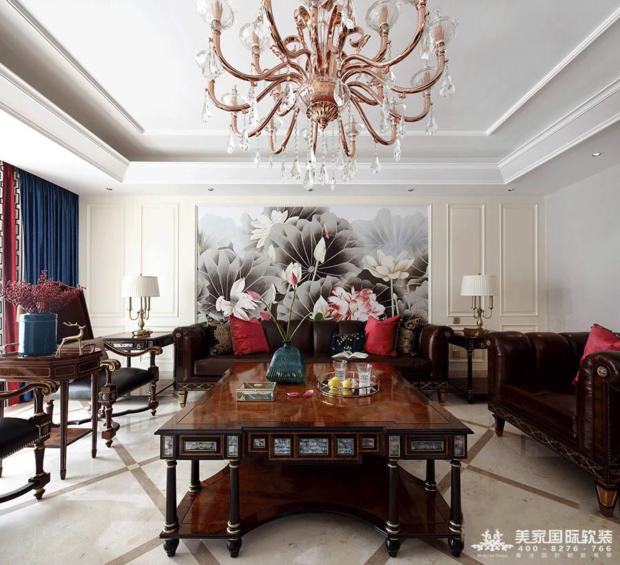 中式別墅軟裝設計