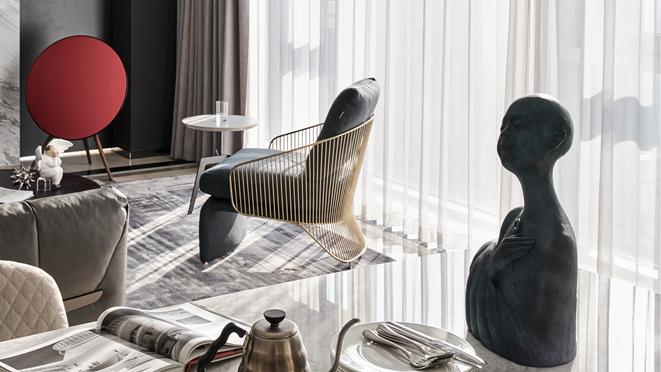 濱江華家池軟裝設計案例——現代都市公寓-杭州十大軟裝修設計公司