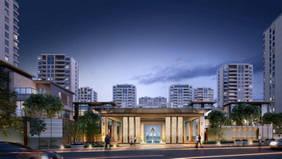 杭州軟裝設計-融信蕭山公館-在施項目
