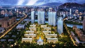 杭州軟裝設計-融信杭州公館-在施項目