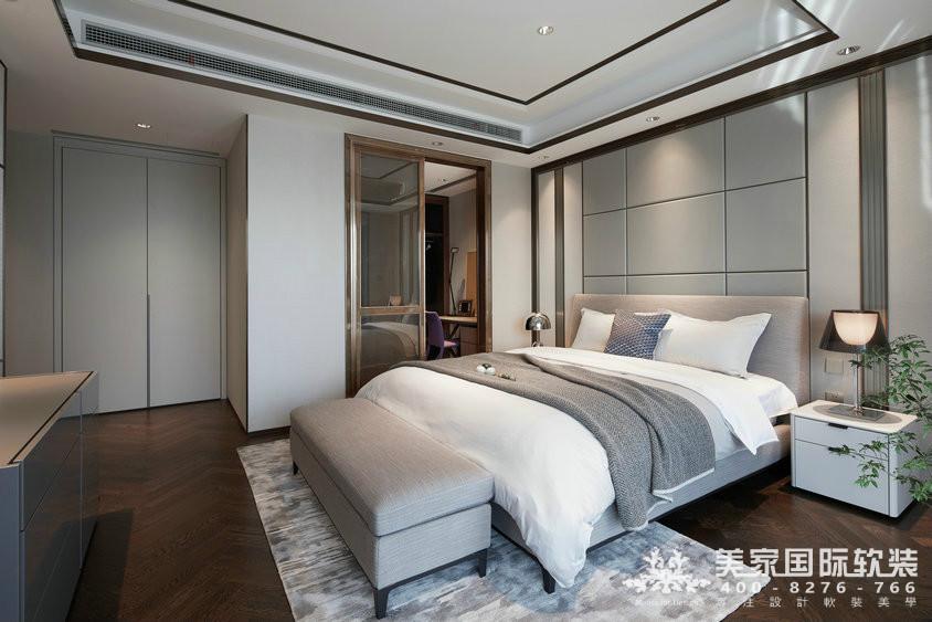 杭州軟裝設計-精裝房軟裝-萬麗璞麗軟次臥軟裝案例