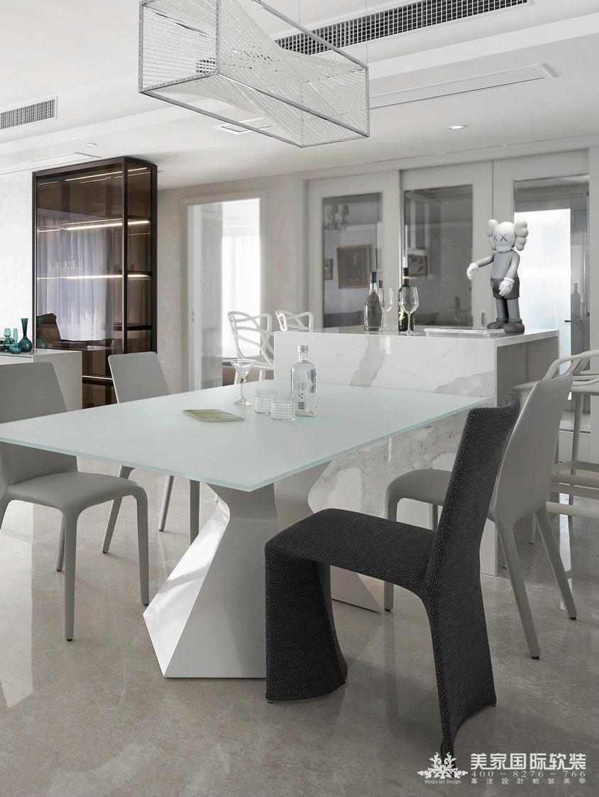 杭州軟裝設計-精裝房軟裝-義烏世茂中心餐廳軟裝案例