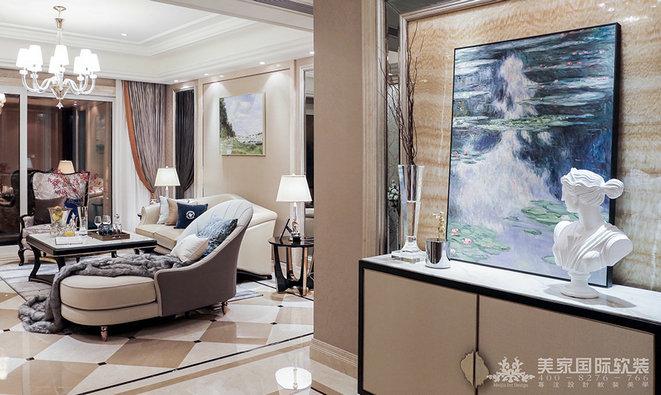 別墅軟裝設計中的配飾搭配有什么技巧?