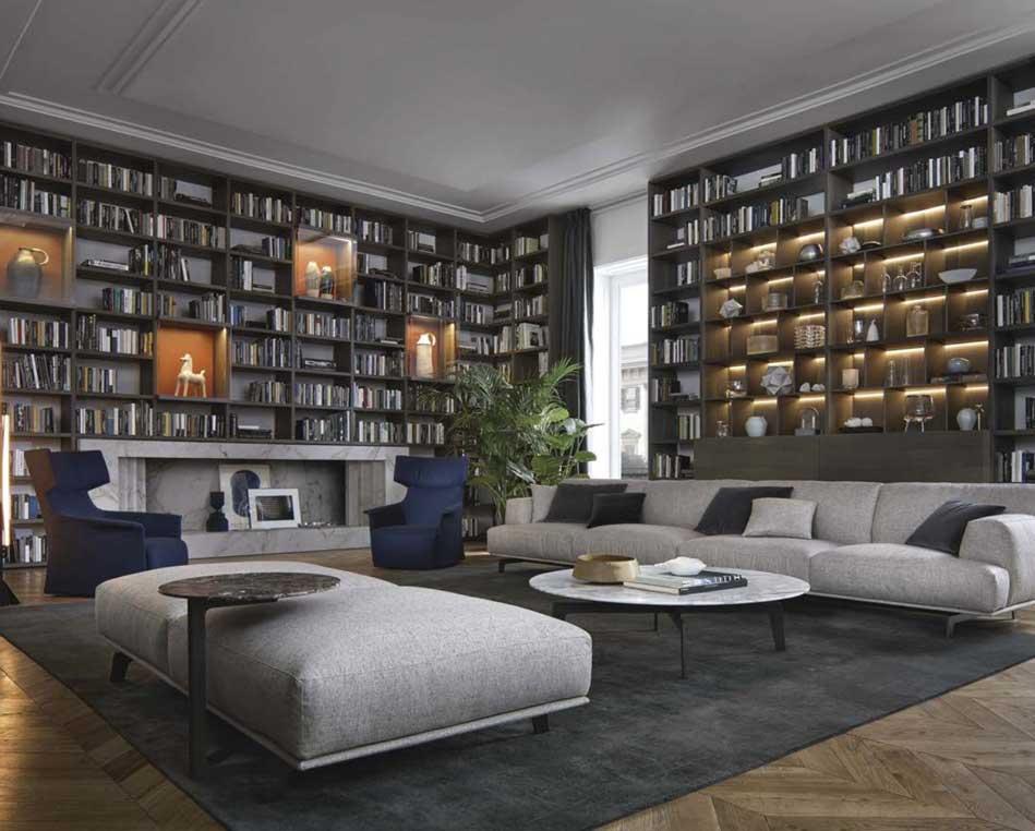 書房軟裝修設計效果圖-書房怎么裝修比較好
