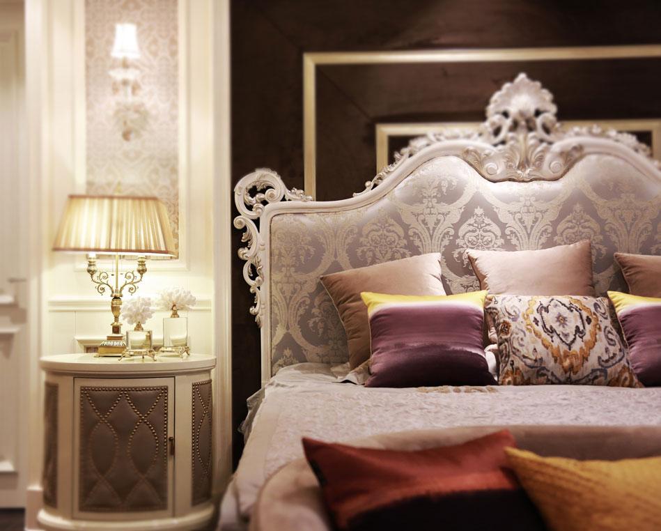 杭州别墅主卧软装设计实景图-主卧怎么设计比较好