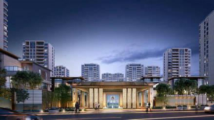萧山公馆楼盘热装-室内软装设计方案