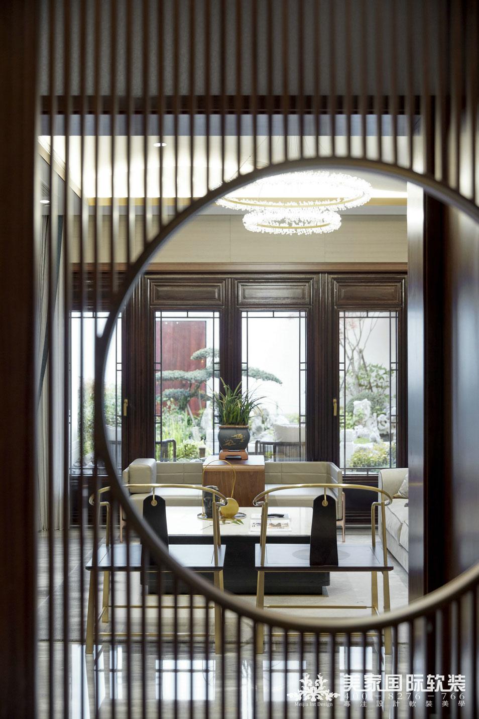 杭州綠城 · 江南里別墅軟裝設計實景案例