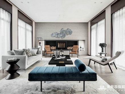 杭州别墅装修色彩搭配常见误区分析-装修实景图大全-美家国际软装设计公司