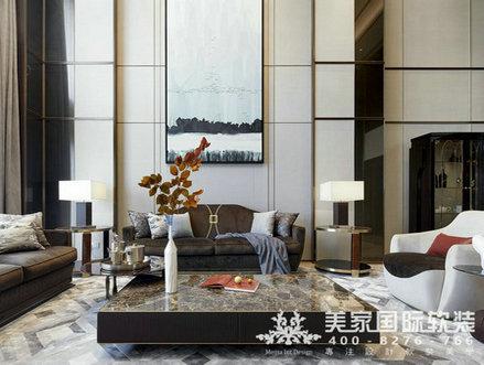 浅谈别墅软装设计需要注意到的几点-杭州美家国际软装设计公司