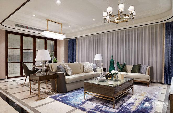 輕奢風格別墅軟裝設計搭配技巧-美家國際軟裝設計公司