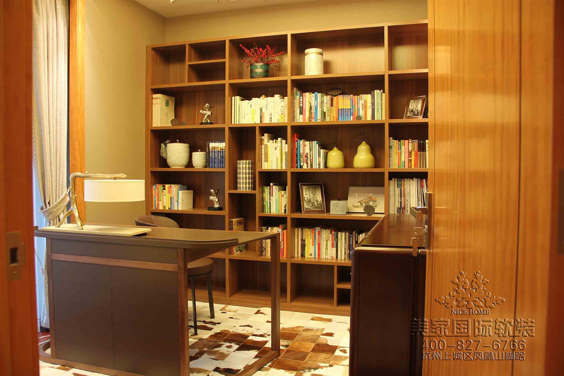 新中式書房軟裝