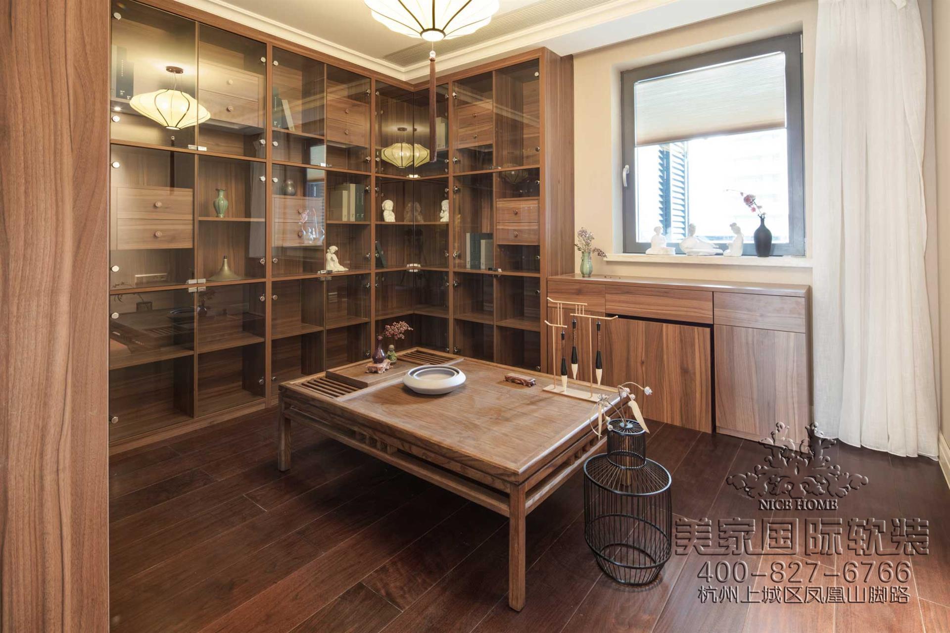 新中式風格書房軟裝